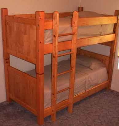 Free Wood Bunk Bed Plans